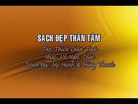 Sạch Đẹp Thân Tâm [karaoke] - Mỹ Hạnh & Hùng Thanh