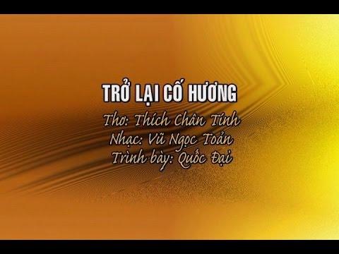 Trở Lại Cố Hương [karaoke] - Quốc Đại