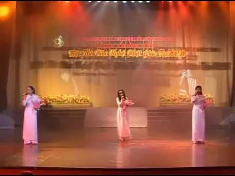 Hội thi Văn nghệ 2008: Em đi lễ chùa (tam ca) - Chùa Quan Âm - Q. Tân Phú