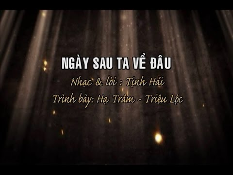 Ngày Sau Ta Về Đâu [karaoke] -