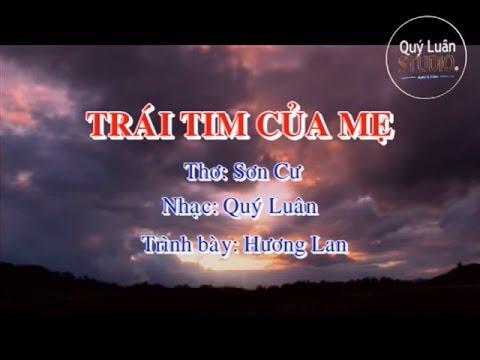 Trái tim của mẹ [karaoke] - Hương Lan