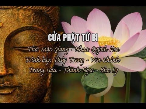 Cửa Phật Từ Bi [karaoke] - Thùy Trang - Vân Khánh - Trung Hậu - Thanh Ngọc - Kha Ly