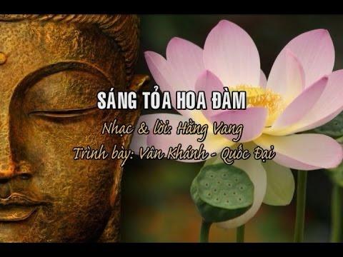 Sáng Tỏa Hoa Đàm [karaoke] - Vân Khánh - Quốc Đại