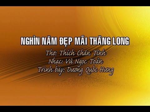 Nghìn Năm Đẹp Mãi Thăng Long [karaoke] - Dương Quốc Hưng