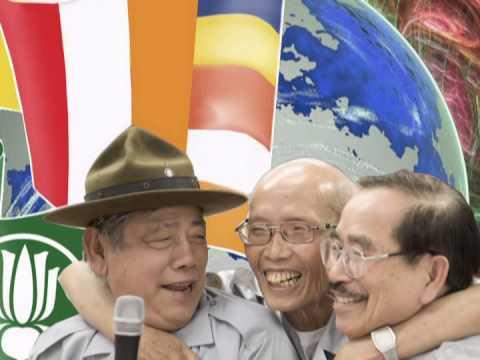 Gia đình Phật tử Việt Nam trên thế giới [karaoke] - Quốc Nghĩa