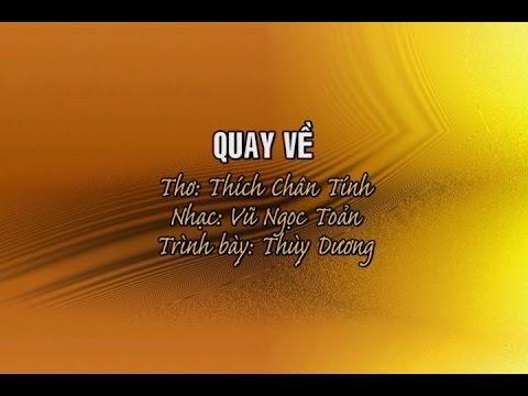 Quay Về [karaoke] - Thùy Dương