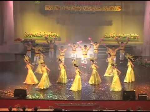 Hội thi Văn nghệ 2008: Ngày vía đản sanh (múa) - GĐPT Từ Tân
