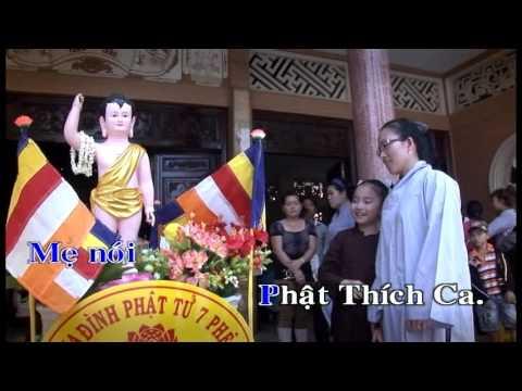 Con tập đến chùa [karaoke] - Thủy Vy