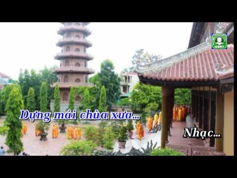Dựng mái chùa xưa Karaoke -
