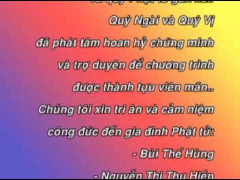 [Tân Cổ Phật Giáo] Thơm Ngát Hương Sen - Tri Ân -