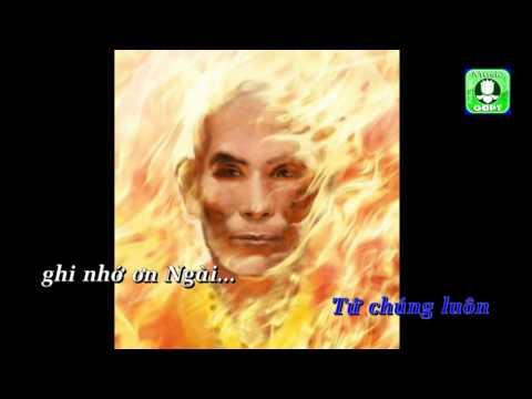 Bồ tát Thích Quảng Đức Karaoke -