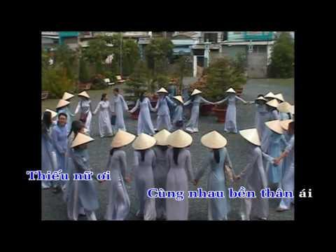 Thiếu Nữ áo lam Karaoke -