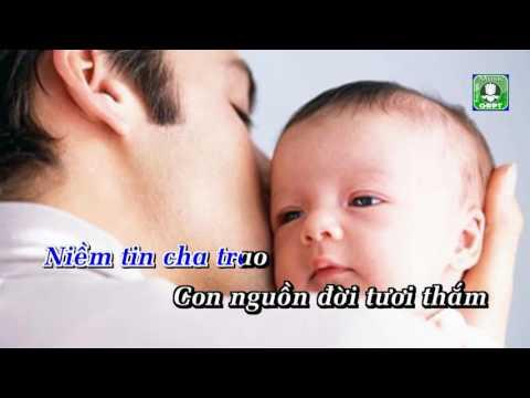 Tình Cha Quốc Thắng Karaoke -