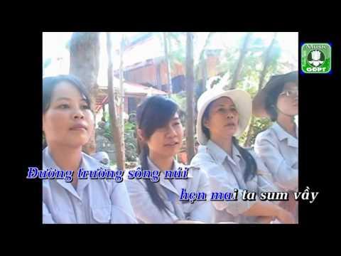 Bài ca tạm biệt Karaoke -
