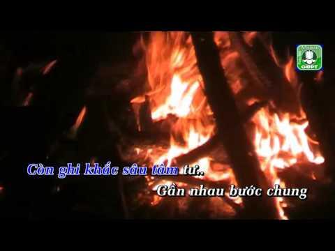Bài ca cuối lửa Karaoke -