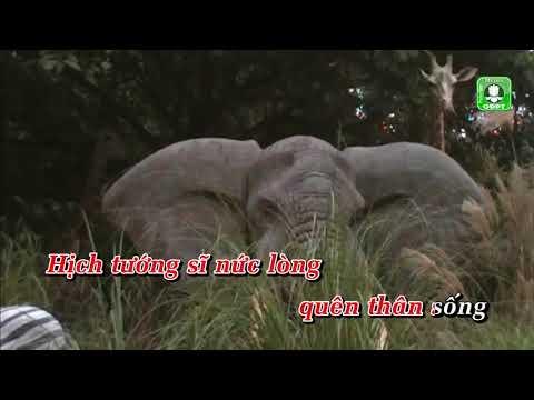 Tiếng nước tôi VTH [Karaoke] - Tấn Đạt