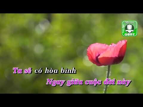 Trái tim hòa bình [Karaoke] -