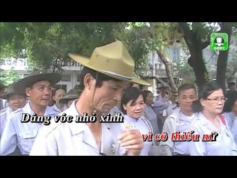 Thiếu nữ áo lam DQ [Karaoke] -