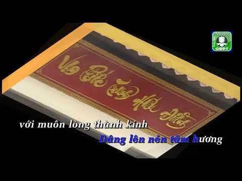 Chân dung người áo lam [Karaoke] -