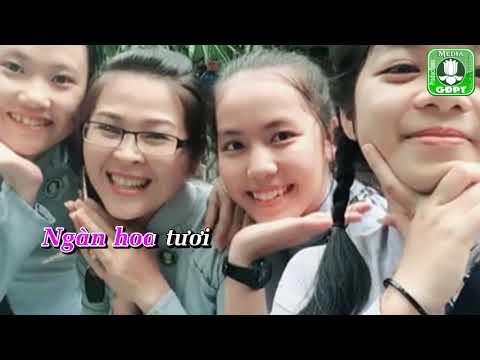 Thiếu nữ Áo Lam [Karaoke] -