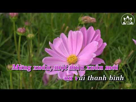 Xem video Mừng Xuân Ý Lan [Karaoke]