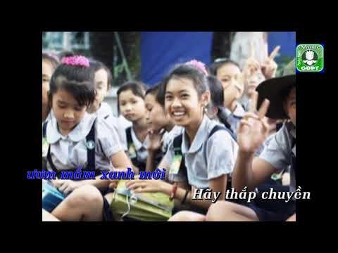Gia Đình Phật Tử Việt Nam [Karaoke] - Quốc Thắng
